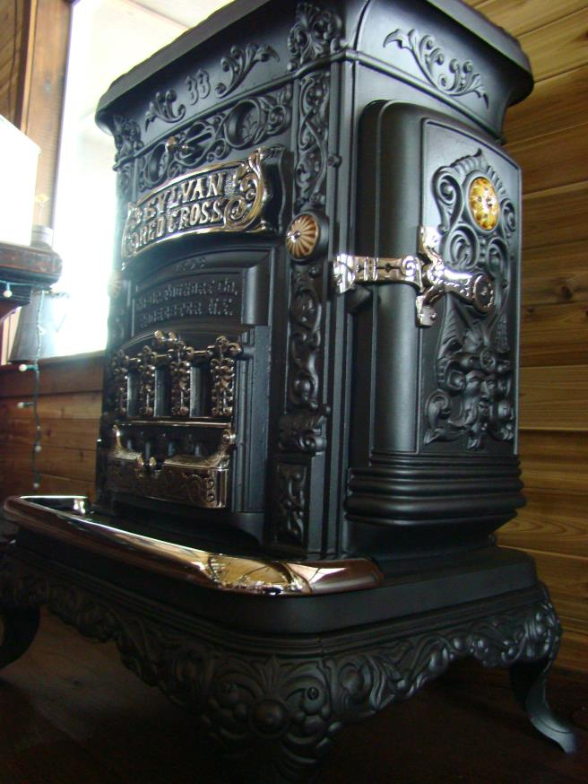 Round Oak E-22 Can & A Half $5500.00 - Rusty Iron Ranch - Antique Stoves