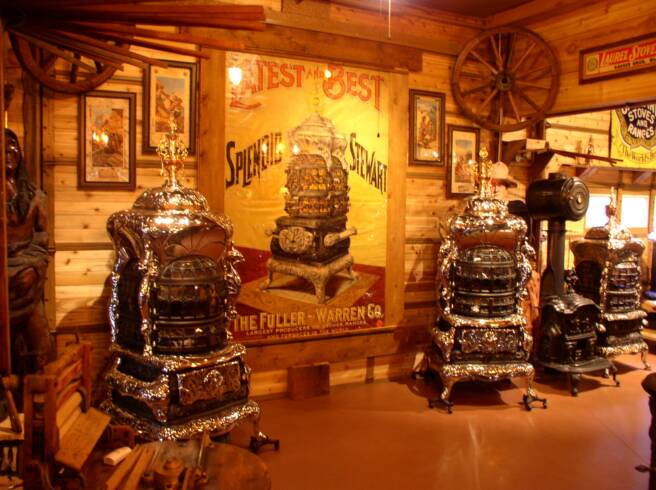 Rusty Iron Ranch Antique Stoves