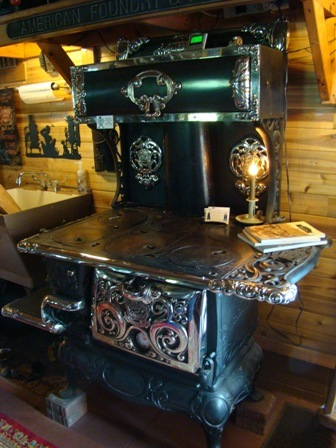 Restored antique vintage stoves