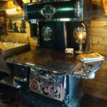 Garland Cookstove No 8-5J. Ornamental piece only. Made by the Michigan Stove co. Detroit & Chicago $6,500