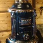 20-T-3 Round Oak Stoves and Ranges Heater. $3950